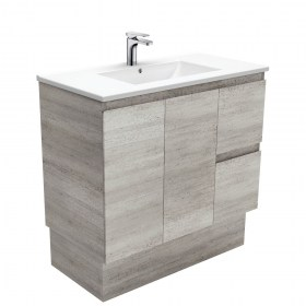 Dolce Industrial Edge 900mm Vanity with Kick
